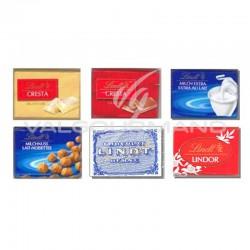 Napolitains chocolat Suisse assorti Lindt - 250g