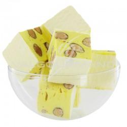 Nougats aux amandes cubes tendres Citron - 3kg en stock