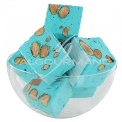 Nougats aux amandes cubes tendres Framboise - 3kg en stock