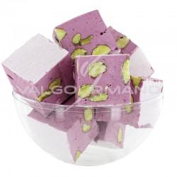 Nougats aux amandes cube tendre Cassis - 3kg en stock