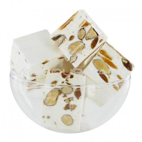 Nougats aux amandes cubes tendres Caramel beurre salé - 3kg
