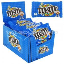 M&Ms bleu crispy 36g - boîte de 24
