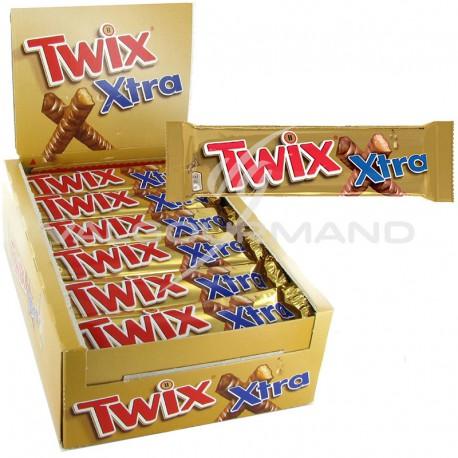 Twix x-tra king size 75g - boîte de 30