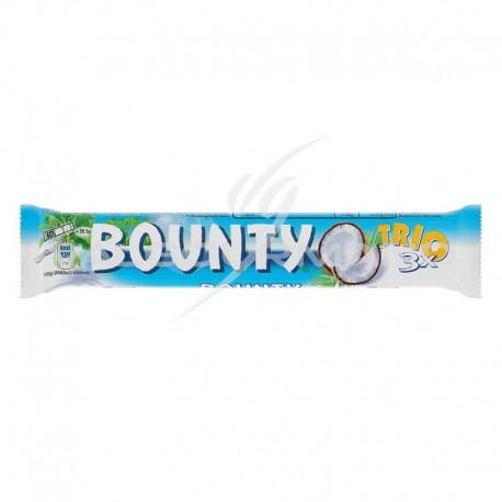 Bounty lait trio king size 85g - boîte de 21