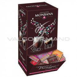 Napolitains parfums assortis Monbana - présentoir de 200