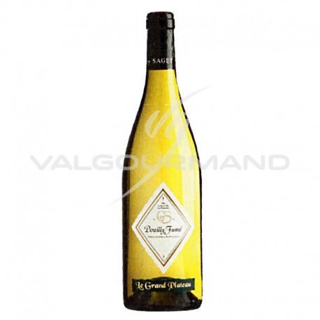 POUILLY-FUME Le Grand Plateau Guy SAGET - 75cl CARTON DE 6 (soit 17.70€ la bouteille !)