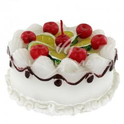Bougie anniversaire forme gâteau - pièce