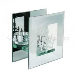 Bougeoir déco miroir en verre et Chandelier PM - pièce en stock