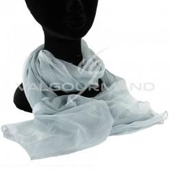 Foulard GRIS 160 x 30 cm - pièce