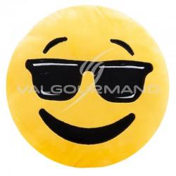 Coussin peluche Emoji cool en stock