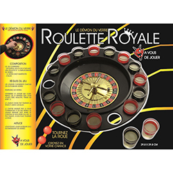 Roulette royale - pièce en stock