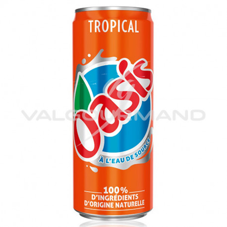 Oasis tropical 33cl - 24 canettes