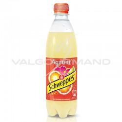 Schweppes agrumes Pet 50cl - 12 bouteilles