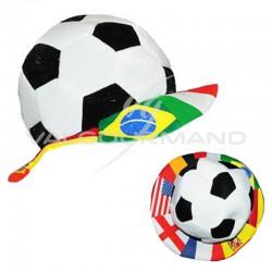 Chapeau ballon de foot - pièce en stock