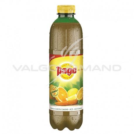 Pago ace (orange/carotte/citron) Pet 1 litre - 6 bouteilles
