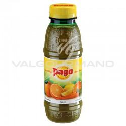 Pago ace (orange/carotte/citron) Pet 33cl - 12 bouteilles