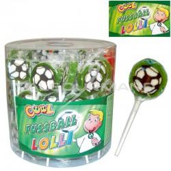 Sucettes Football - tubo de 100 en stock