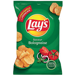 Chips Lay's bolognaise 45g - 20 paquets