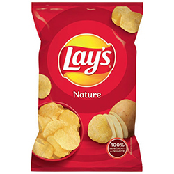 Chips Lay's nature 45g - 20 paquets