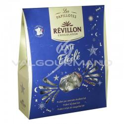 Papillotes en chocolat au lait Etoilé Révillon - pochette de 365g
