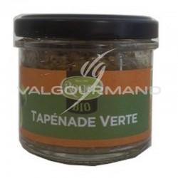 Tapenade d'olives vertes BIO 100g - 6 boîtes - DLUO 27/08/21 en stock
