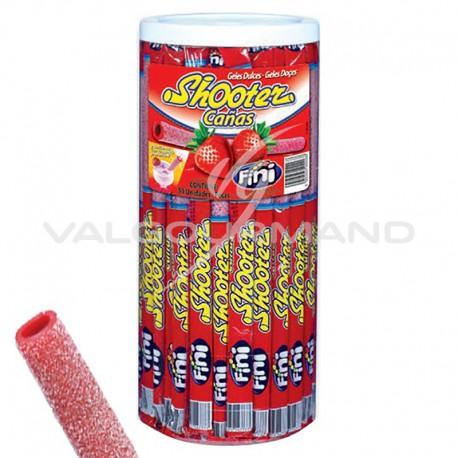 Shooter 50 pailles acidulées FRAISE