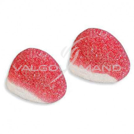 Bisous fraise - sachet de 385