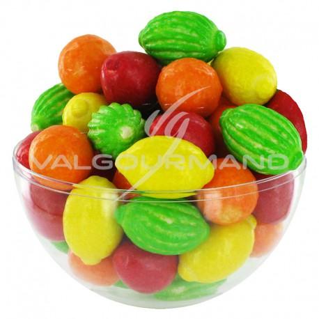Chewing gum Macédoine - sachet de 250 (1,5kg)