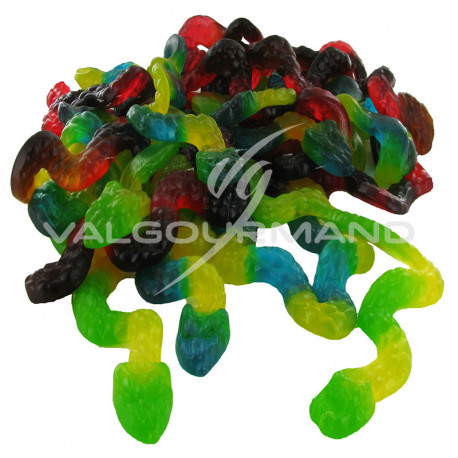 Serpents gélifiés XXL - 3kg