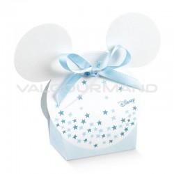 Boîte Mickey blanc et bleu - pièce
