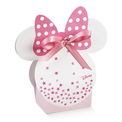 Boîte Minnie blanc et rose - pièce