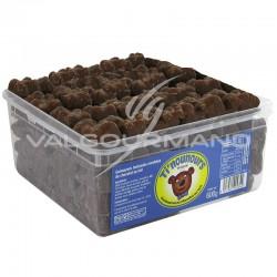 Oursons en guimauve et chocolat au lait - tubo de 600g