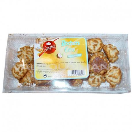 Rocher mini noix de coco 250g - 12 paquets