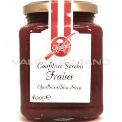 Confiture fraise (50%) 400g - 6 pots en stock