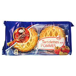 Tartelettes aux pommes 300g - 12 paquets