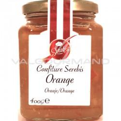 Confiture orange (50%) 400g - 6 pots en stock
