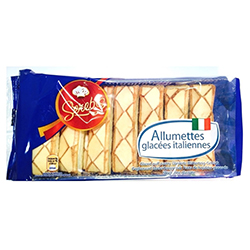 Sfogliatine allumettes glacées italiennes 200g - les 12 paquets