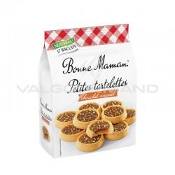 Petites tartelettes caramel et chocolat Bonne Maman 250g - 12 paquets en stock