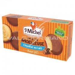 Galettes moelleuses chocolat lait St Michel 180g - 8 paquets en stock