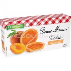 Tartelettes pêche abricot Bonne Maman 135g - 12 paquets en stock