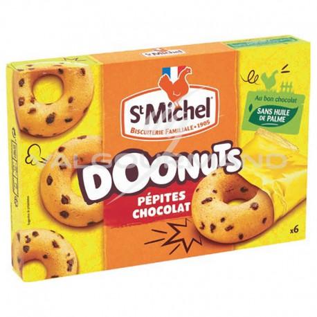 Doonuts pépites chocolat St Michel 180g - 9 boîtes