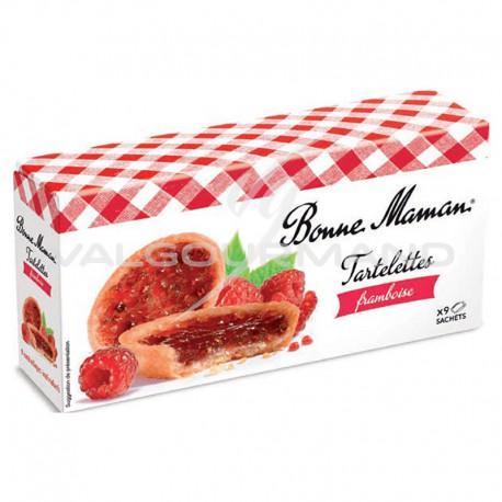 Tartelettes framboise Bonne Maman 135g - 12 paquets