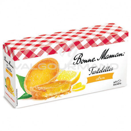 Tartelettes citron Bonne Maman 125g - 12 paquets