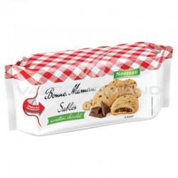 Sablés fourrés noisette et chocolat Bonne Maman 150g - 8 paquets en stock