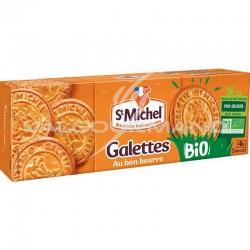 Galettes au beurre St Michel BIO 130g - 10 paquets en stock