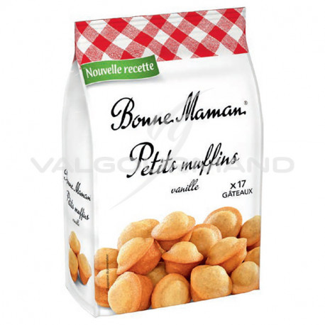 Petits muffins natures Vanille Bonne Maman 235g - 8 paquets