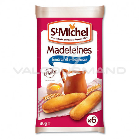 Madeleines longues natures St Michel 80g - 20 paquets