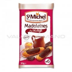 Madeleines longues au chocolat St Michel 90g - 20 paquets