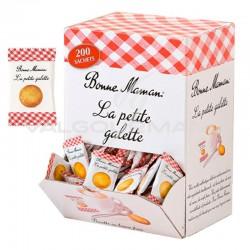 Petites galettes beurre Bonne Maman - boîte de 200 en stock