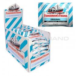 Fisherman's friend eucalyptus menthol SANS SUCRES 25g - 24 sachets en stock